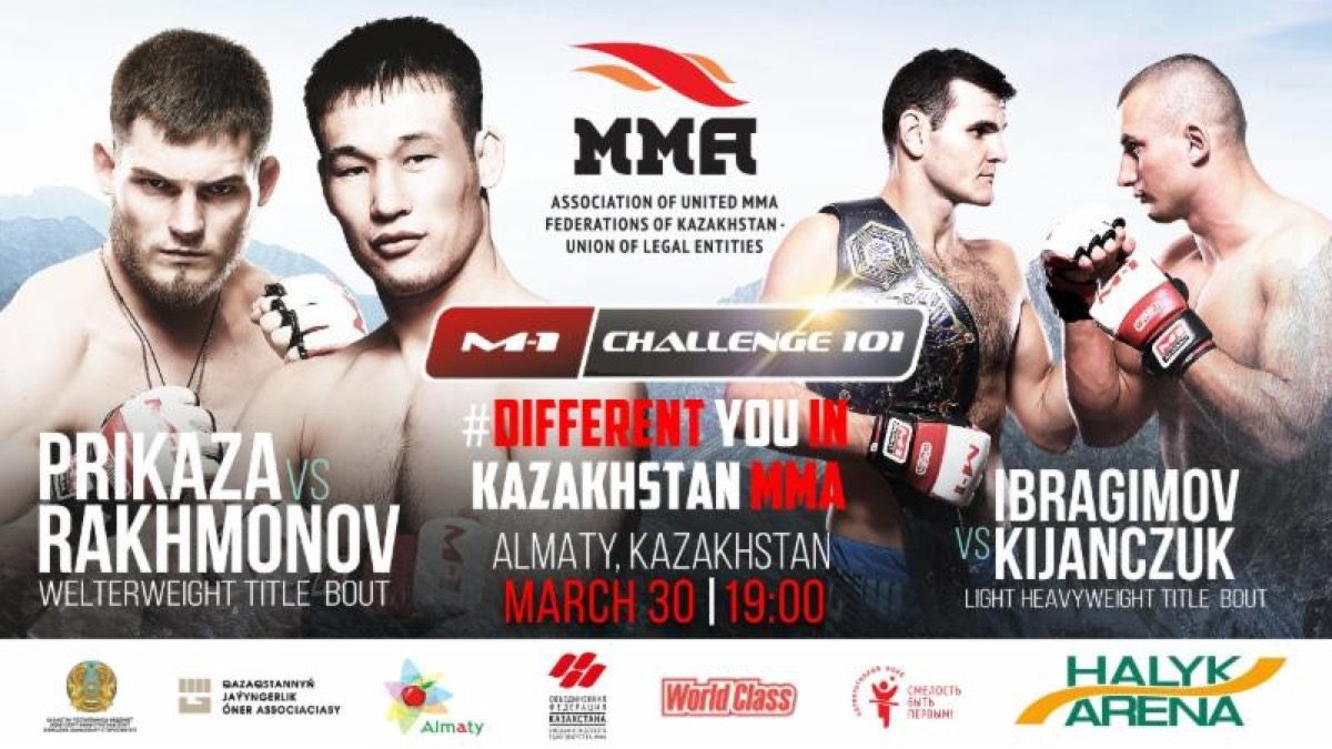 Two M-1 Challenge title fights Featured at M-1 Challenge 101