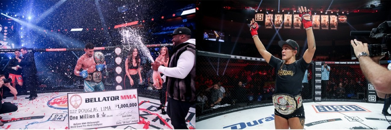 Bellator is proud to announce that welterweight champion Douglas Lima (32-7) and flyweight champion Ilima-Lei Macfarlane (11-0) will continue to compete inside the Bellator cage after signing exclusive multi-year, multi-fight extensions to remain with the ViacomCBS-owned promotion.