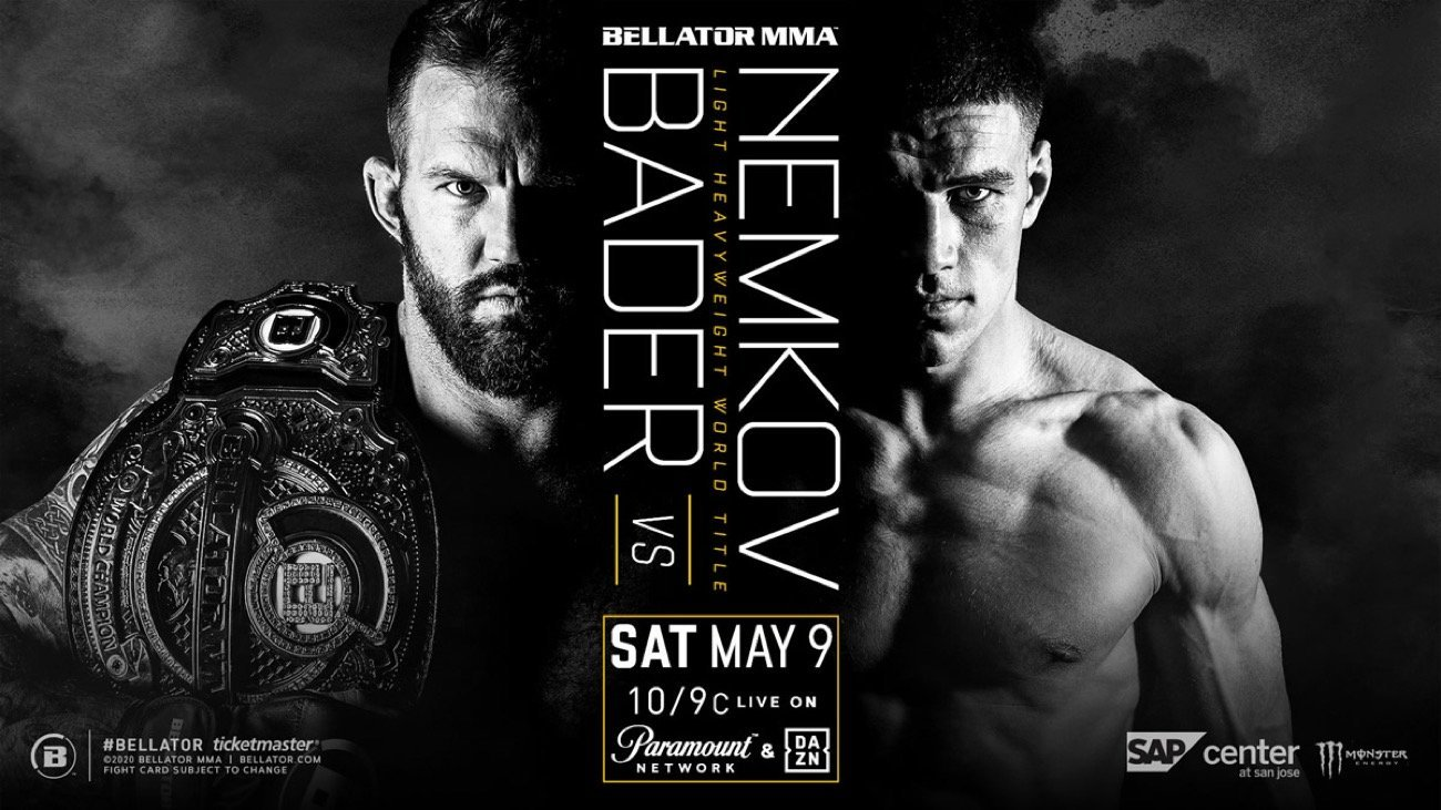 Due to the ongoing safety concerns surrounding the  outbreak, as well as current federal, state and local government mandates, Bellator MMA officials today have announced that three upcoming live events scheduled for May have been postponed.