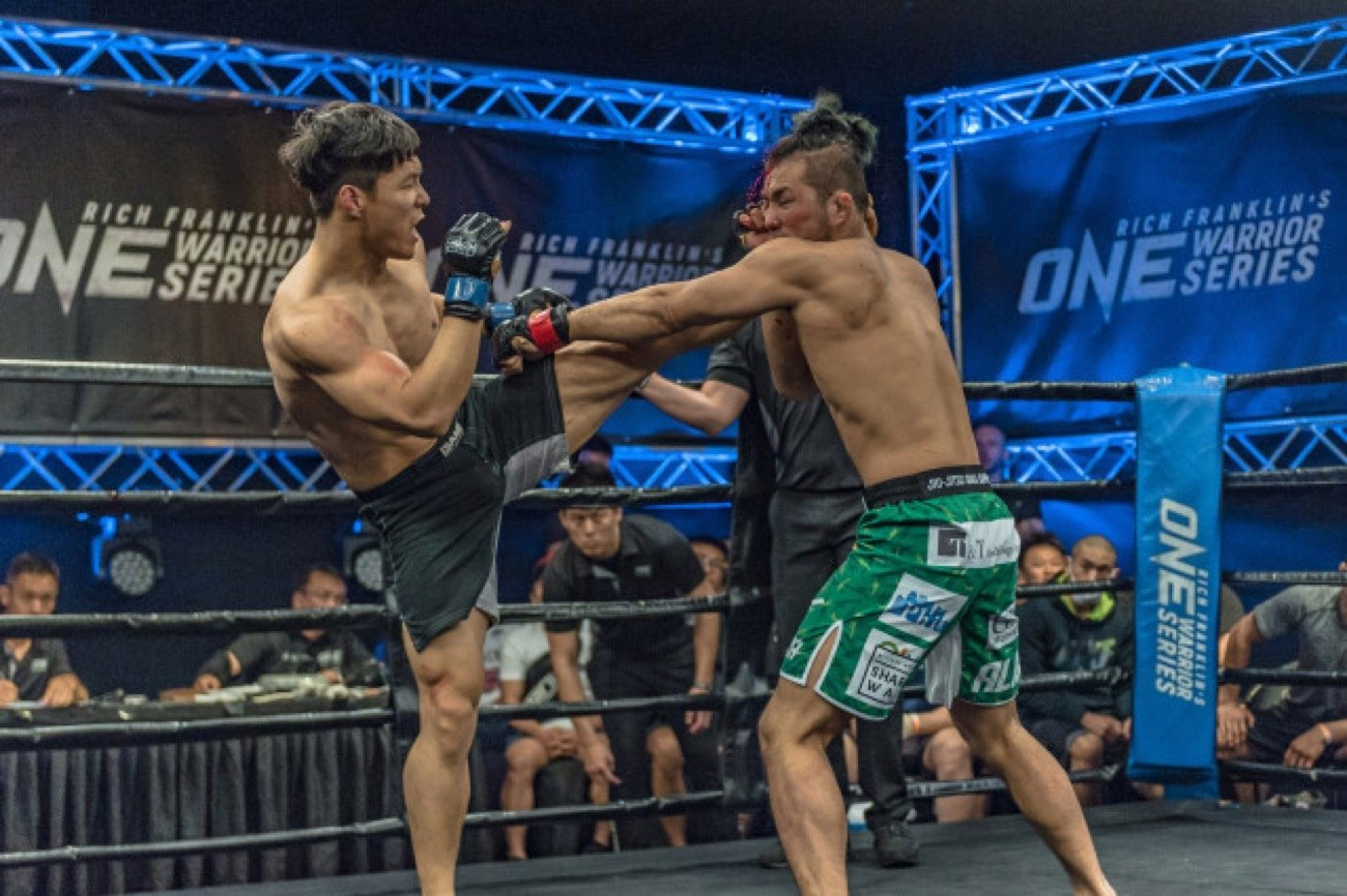 """""""Crazy Dog"""" Dae Sung Park is steadily making a name for himself as one of South Korea's most promising talents on the ONE Championship stage."""