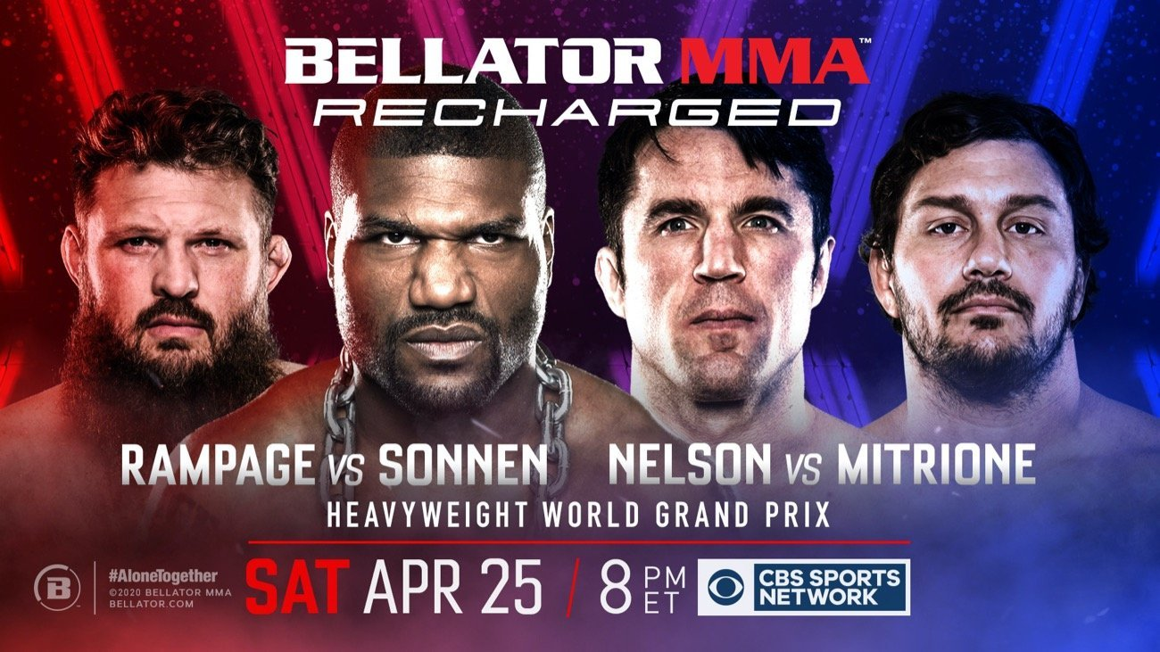 NEW SERIES WILL FEATURE MARQUEE CLASSIC BELLATOR EVENTS – BEGINNING WITH THE HISTORIC BELLATOR HEAVYWEIGHT WORLD GRAND PRIX STARTING ON APRIL 25 AT 8 P.M. ET/5 P.M. PT