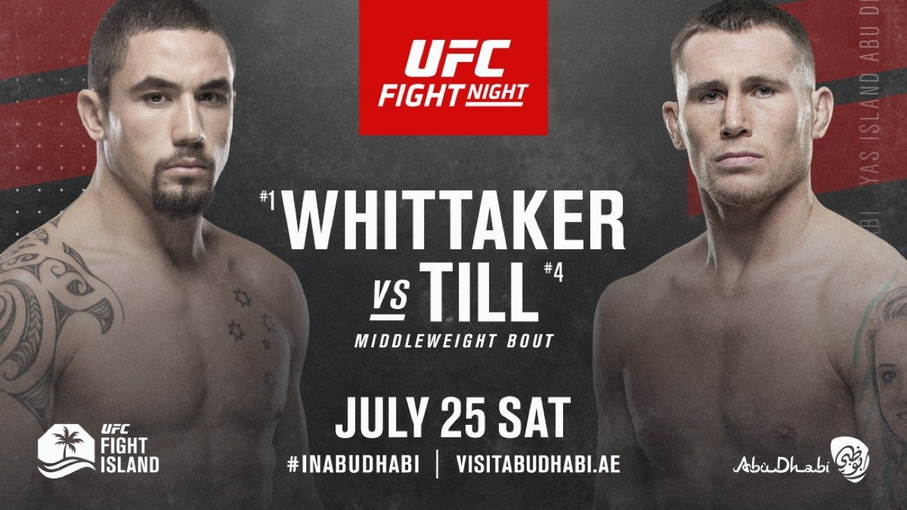 MMA star Darren Till when make his highly-anticipated return to the Octagon when he takes on Robert Whittaker in the main event of UFC Fight Night 174.