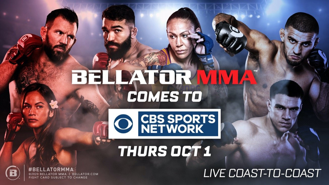 COVERAGE KICKS OFF THURSDAY, OCT. 1 WITH BELLATOR 247 LIVE FROM MILAN, ITALY PLUS, CHAMPION CRIS 'CYBORG' AND ARLENE BLENCOWE MEET IN EPIC WORLD TITLE BOUT IN PRIMETIME ON OCT. 15