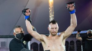 In his first fight in more than eight months, New Hampshire's Nick Alley earned the biggest win of his career Wednesday night on UFC FIGHT PASS®.