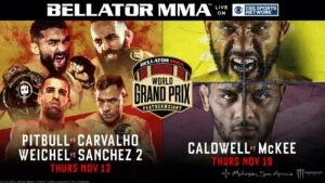 CHAMP PATRICIO 'PITBULL' DEFENDS HIS TITLE IN QUARTERFINAL MATCHUP AGAINST PEDRO CARVALHO, WHILE DANIEL WEICHEL FACES EMMANUEL SANCHEZ PLUS, DARRION CALDWELL MEETS UNDEFEATED AJ MCKEE IN SEMIFINALS ON NOV. 19