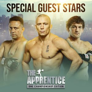 28 October 2020 – Singapore: The largest global sports media property in Asian history, ONE Championship™ (ONE), today announced three additional special guest star athletes for 'The Apprentice: ONE Championship Edition.'