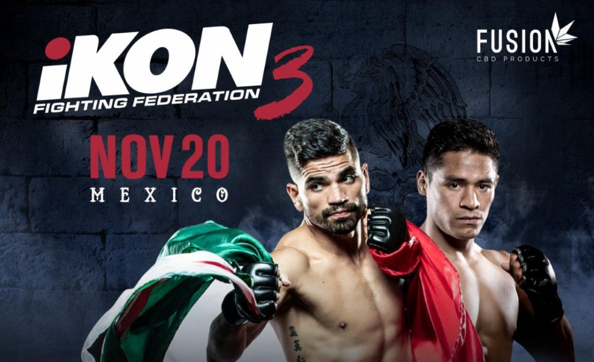 iKON 3 STREAMING LIVE & EXCLUSIVELY ON UFC FIGHT PASS® Nov. 20 FROM MARINATERRA HOTEL SPA & EVENT CENTER IN SAN CARLOS