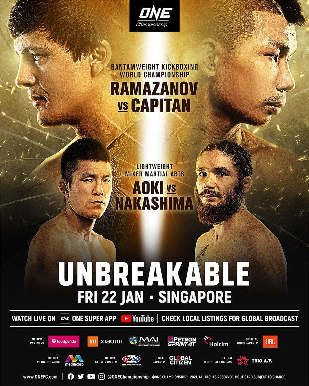MMA News: James Nakashima, Shinya Aoki